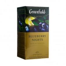 Greenfield Čaj černý Blueberry Nights sáčky