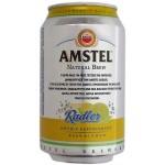 Pivo Amstel radler 330ml plech