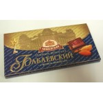 Babajevká čokoláda s celimy mandlemi 100g