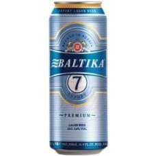 Pivo Baltika 7, 5.4% 500ml