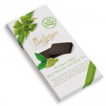 Belgian Hořká čokoláda se zeleným čajem 100g