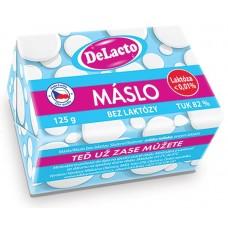 DeLacto máslo bez laktózy 125 g