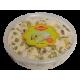 CHALVA sezamová s pistácií kelimek