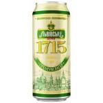 Pivo Lvivske 1715, 12% plech