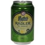 Pivo Mythos Radler 330ml plech