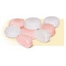Zefír bílo-růžový
