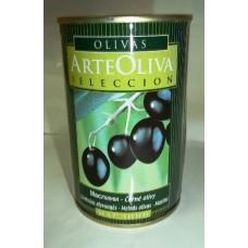Černé olivy s peckou