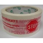 lepící páska akryl lepidlo STOP
