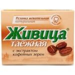 Živica s extraktem z kávových zrn